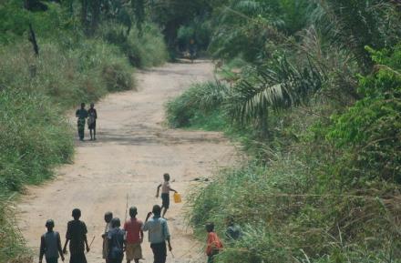 Kinshasa outskirts