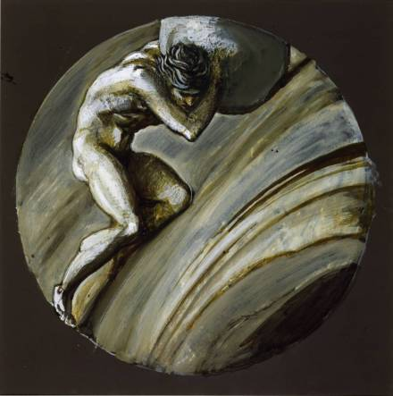 Sisyphus circa 1870 Sir Edward Coley Burne-Jones, Bt 1833-1898 Bequeathed by A.N. MacNicholl 1916 http://www.tate.org.uk/art/work/N03141